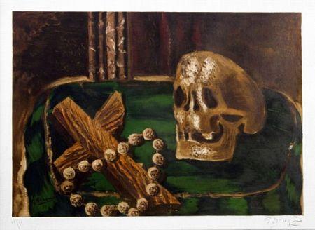 Litografia Braque - Vanitas