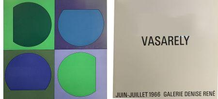Libro Illustrato Vasarely - Vasarely Juin Juillet 1966 - Galerie Denise René