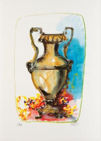 Serigrafia Lüpertz - Vase 1