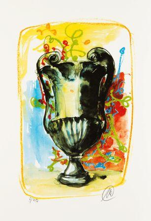 Serigrafia Lüpertz - Vase 3