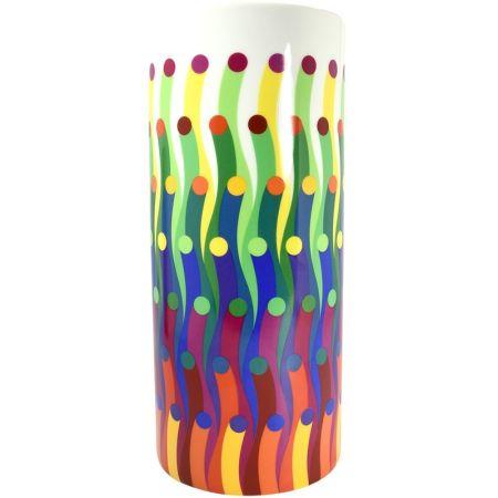 Ceramica Le Parc - Vase surface colorée