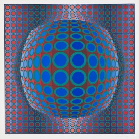 Serigrafia Vasarely - Vega