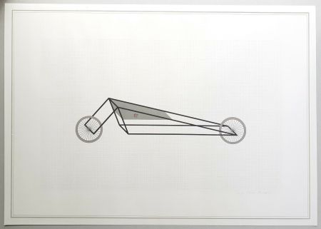 Litografia Piacentino - Vehicle sculpture. Wall sculpture (b)