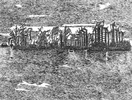 Acquaforte Zancanaro - Venezia industriale