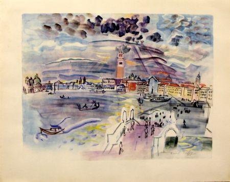 Litografia Dufy - Venise