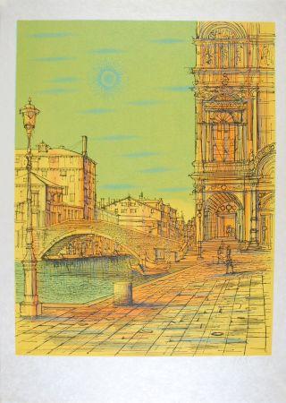 Litografia Carzou - Venise