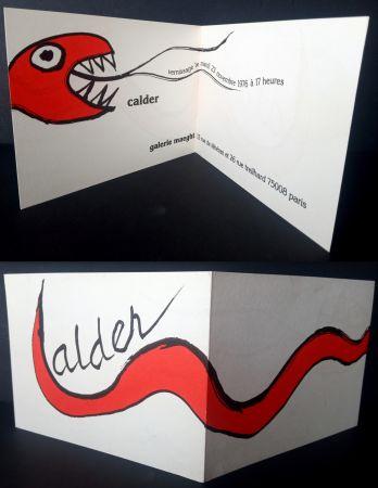 Litografia Calder - Vernissage Galerie Maeght Paris