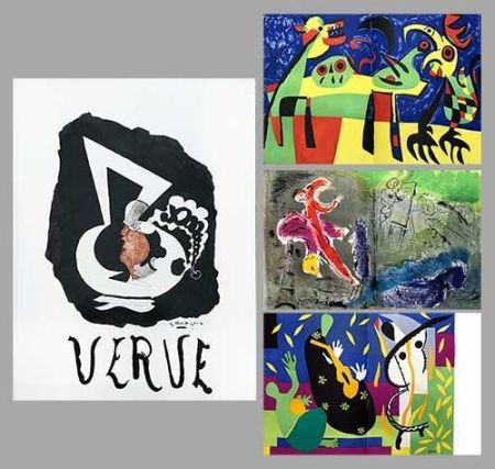 Libro Illustrato Chagall - Verve 27 28