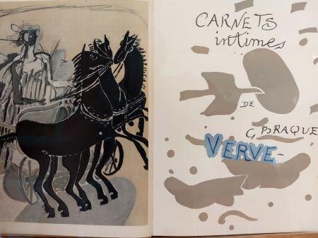 Libro Illustrato Braque - Verve 31 32