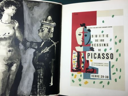 Libro Illustrato Picasso - Verve N° 29-30. Picasso And The Human Comedy. A Suite Of 180 Drawings By Picasso (Vallauris, Suite De 180 Dessins De Picasso)