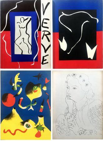 Libro Illustrato Matisse - VERVE Vol. I n° 1. (couverture de Matisse).