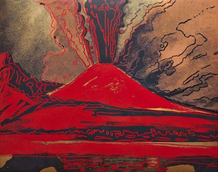 Serigrafia Warhol - Vesuvius (FS II.365)