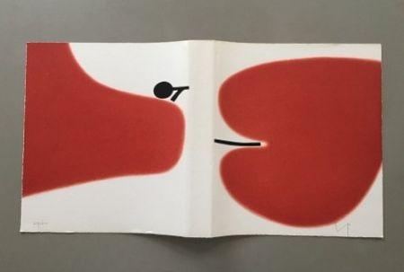 Litografia Pasmore - Victor Pasmore - Untitled Sans Titulo 1972 - Lithograph