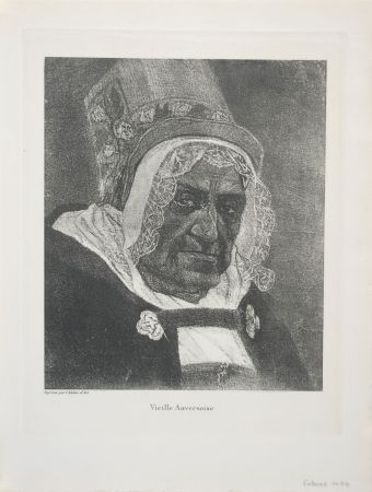 Incisione Rops - Vieille Anversoise