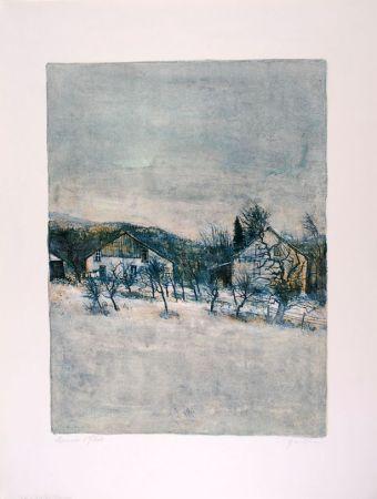 Litografia Gantner - Vieilles Maisons - Old Houses