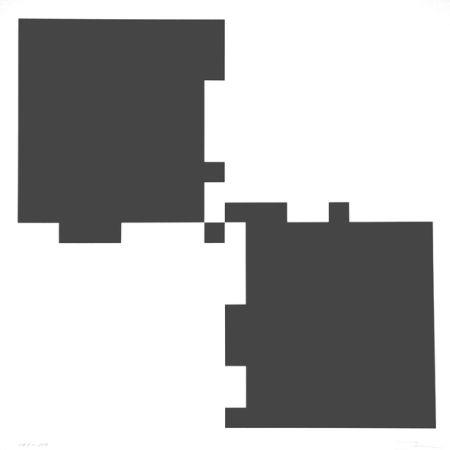 Serigrafia Lohse - Vier rhythmen an vier feldern