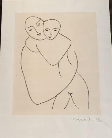Litografia Matisse - Vierge et l'enfant
