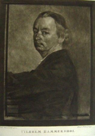 Maniera Nera Ilsted - Vilhelm Hammershøi