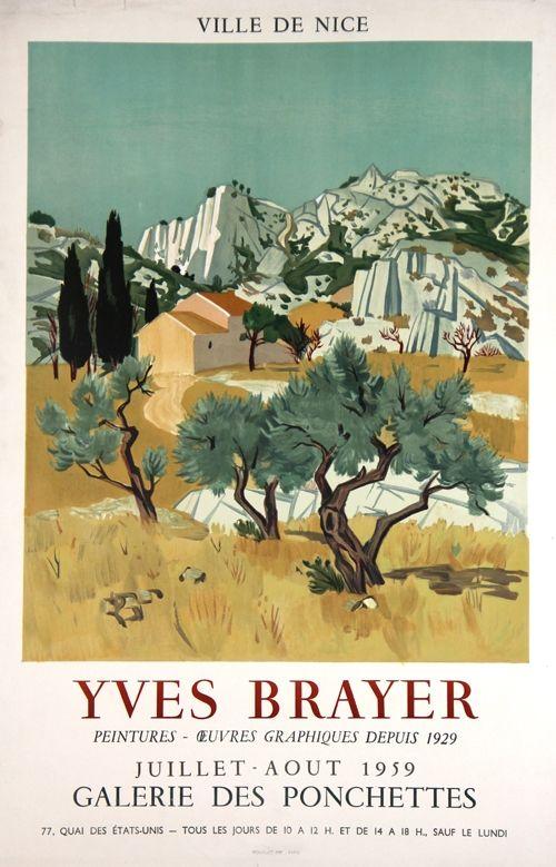 Litografia Brayer - Ville de Nice