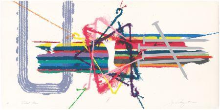 Litografia Rosenquist - Violent Turn