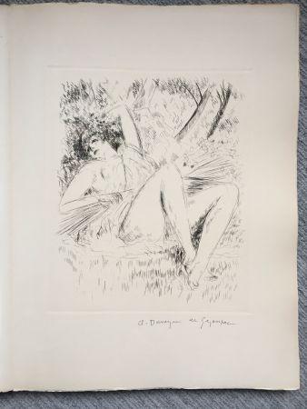 Libro Illustrato De Segonzac - Virgile. LES GEORGIQUES - GEORGICA. 119 eaux-fortes originales dont 46 signées au crayon par l'artiste.