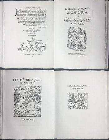Libro Illustrato Maillol - VIRGILE : LES GEORGIQUES. Bois originaux de Maillol (Gonin, 1950)