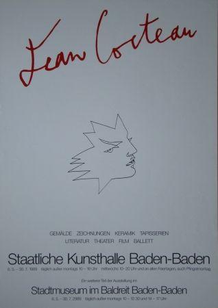 Manifesti Cocteau - Visage