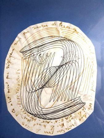 Litografia Vasarely - Visage