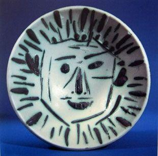 Ceramica Picasso - Visage de face