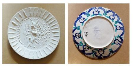 Ceramica Picasso - Visage tourmenté