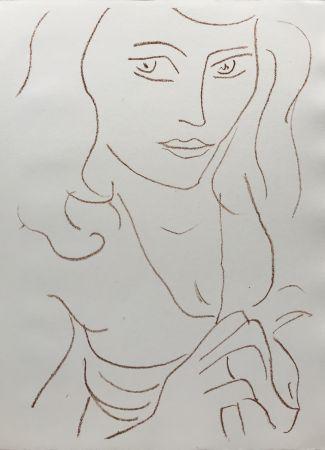 Litografia Matisse - Visages I