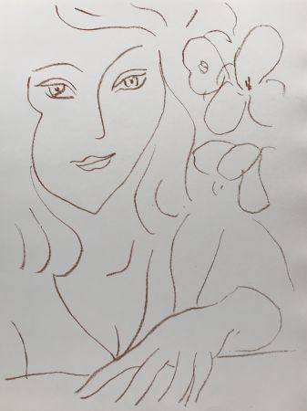 Litografia Matisse - Visages III