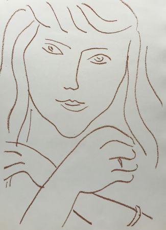 Litografia Matisse - Visages IV