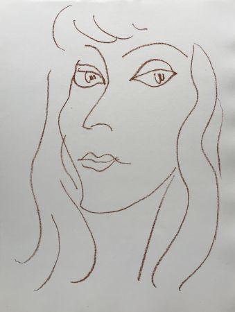 Litografia Matisse - Visages V
