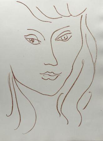 Litografia Matisse - Visages VI