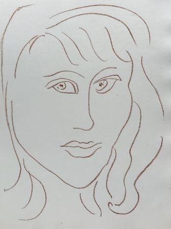 Litografia Matisse - Visages VII