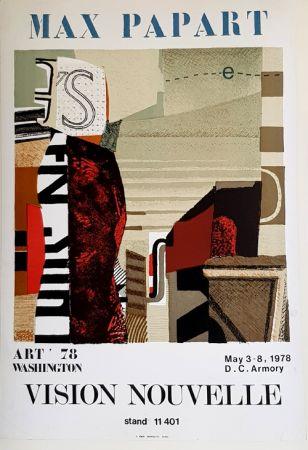 Litografia Papart - Vision Nouvelle  Art 78 Washington