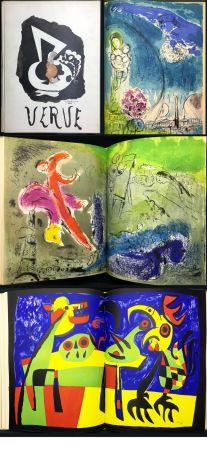 Libro Illustrato Chagall - VISIONS DE PARIS. VERVE Vol. VII. N° 27-28 (1953)