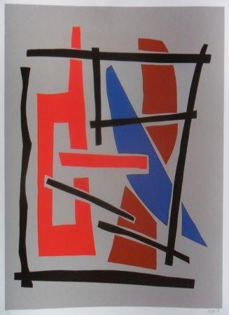 Serigrafia Jacobsen - Visions Sculpturales III