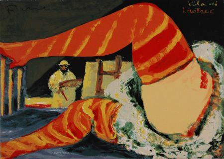 Serigrafia Fiume - Vita di Lautrec
