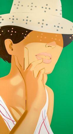 Serigrafia Katz - Vivien with Straw Hat
