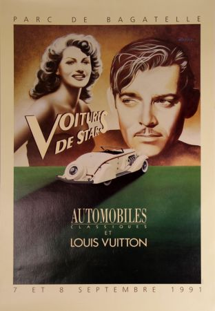 Manifesti Razzia - Voitures de Stars Automobile et Louis Vuiton