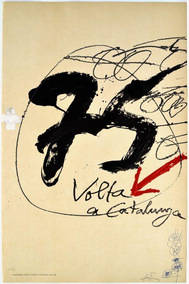 Litografia Tàpies - Volta a Catalunya