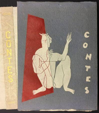 Libro Illustrato Laurens - W. SAROYAN : CONTES. illustré de bois originaux par Henri Laurens.