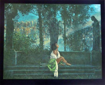 Serigrafia Girotto - Waiting for a Sunbeam