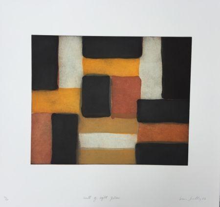 Acquaforte E Acquatinta Scully - Wall of Light Yellow
