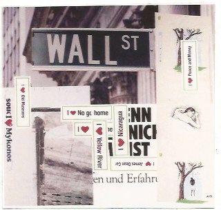 Litografia Kippenberger - Wall Street