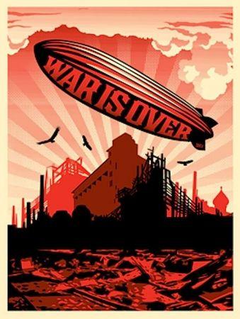 Serigrafia Fairey - War Is Over