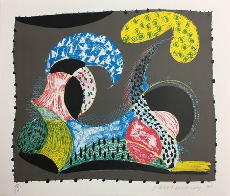 Serigrafia Hockney - WARM START