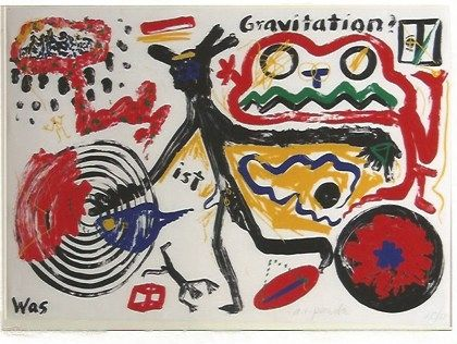 Serigrafia Penck - Was ist Gravitation
